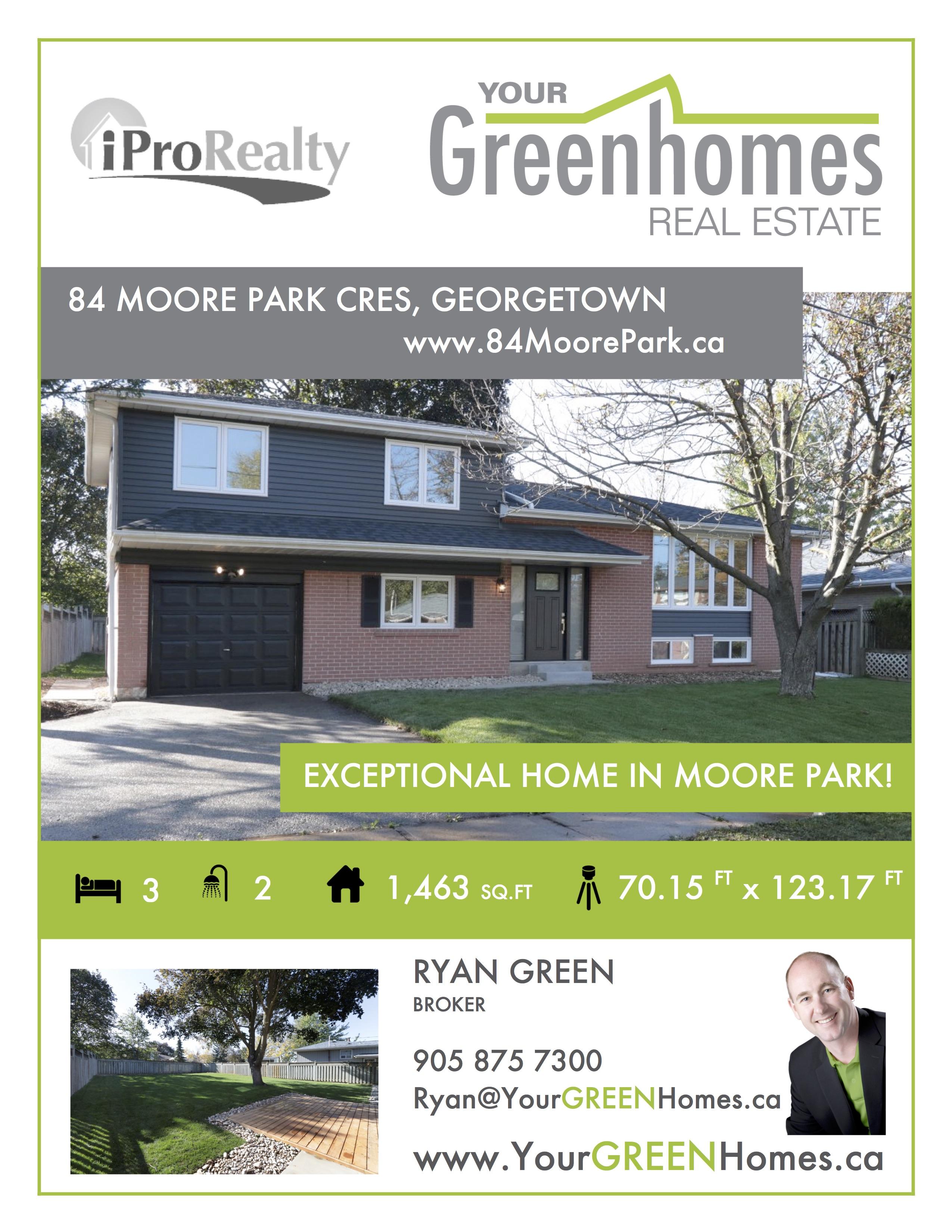 real estate listing sheet
